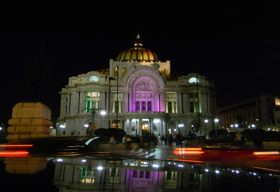 Palacio Bellas Artes NightShot