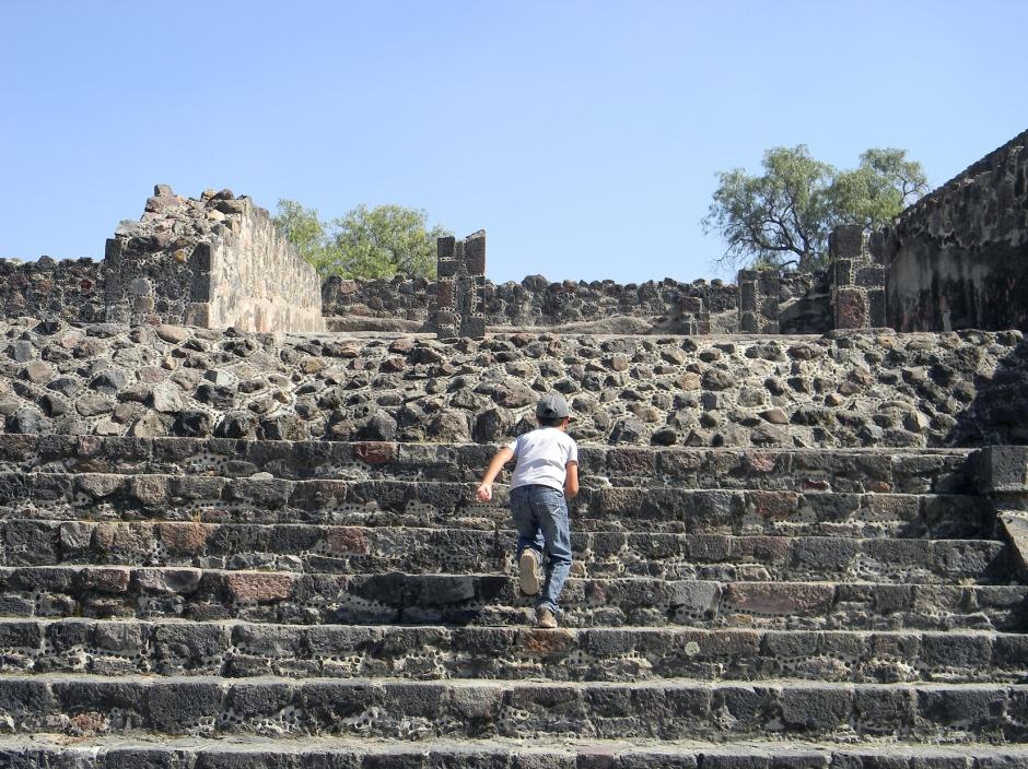 Corriendo en las Ruinas