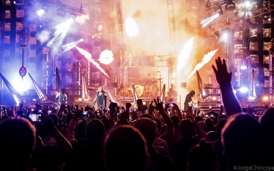 Mötley Crüe - Mexico City - Septiembre 10, 2015